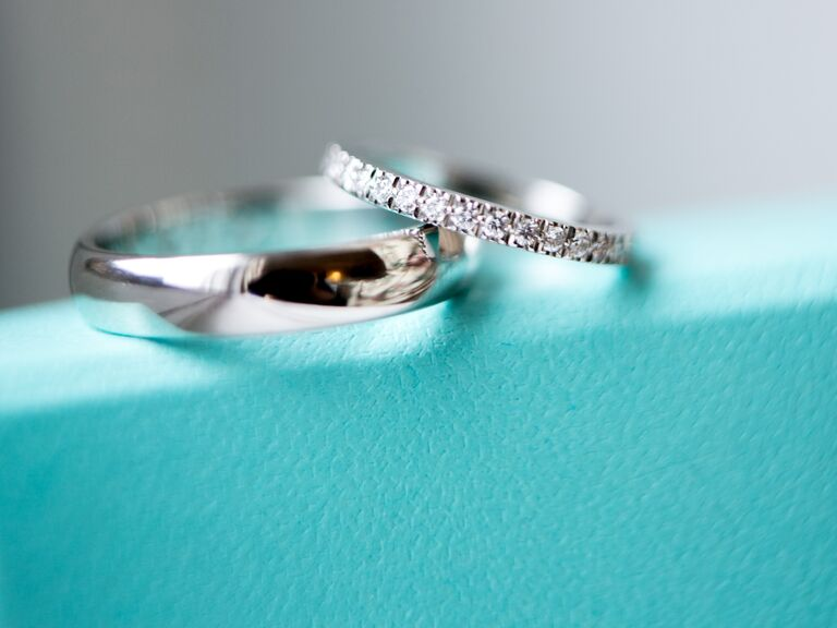 Tiffany & Co. conflict-free diamond wedding band