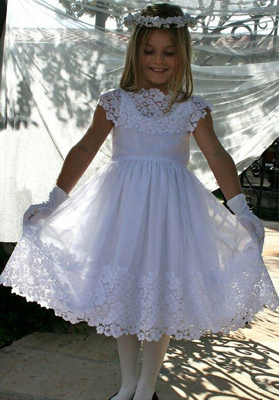 Isabel Garretón Vintage Flower Girl Dress photo