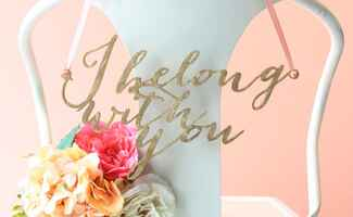 Music Lyric Wedding Details You Can Buy