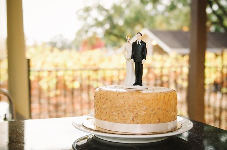 The first time Adam tried the peanut butter, salted caramel and bacon flavored doberge cake from Toups' Meatery and Debbie does Doberge in New Orleans, he said that he wanted to marry the woman that made the cake. Tracey thought that it was only fitting that he should indulge in that cake for their wedding to have a little piece of New Orleans at their wedding so far away.