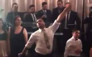 Wedding Dance Off: YouTube / TheKnot.com