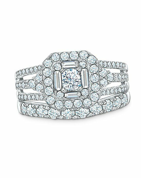Celebration Diamond Collection at Zales Celebration 102® 1- 1/4 CT. T.W. Diamond Engagement Ring in 14K White Gold (I/SI2)  20008991 Engagement Ring photo