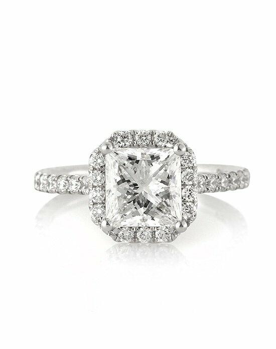 Mark Broumand 2.95ct Princess Cut Diamond Engagement Anniversary Ring Engagement Ring photo