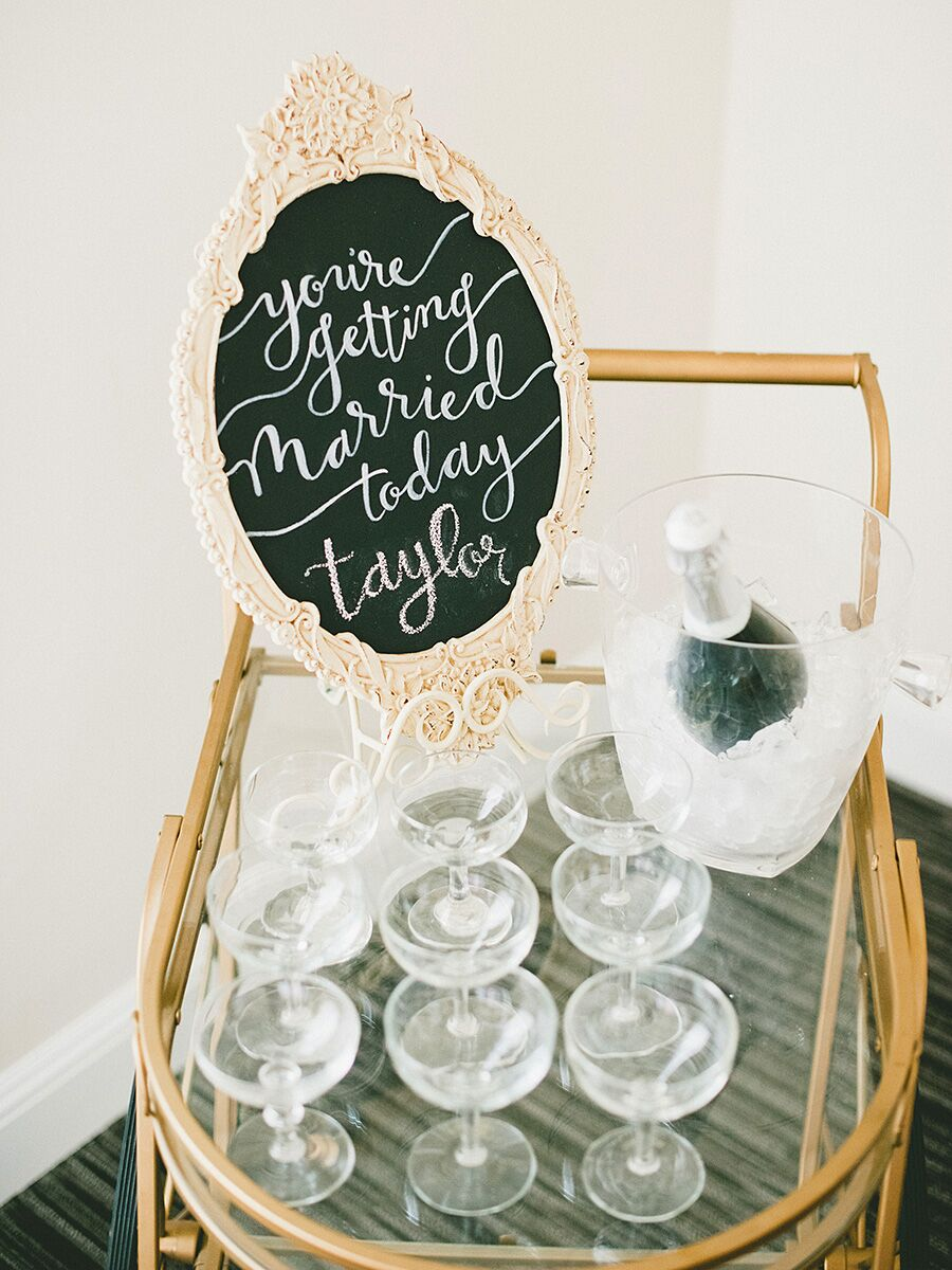 wedding chalkboard signs  18 unique ideas for your reception