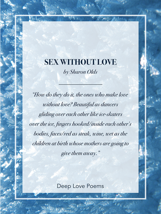 Deep love poems image
