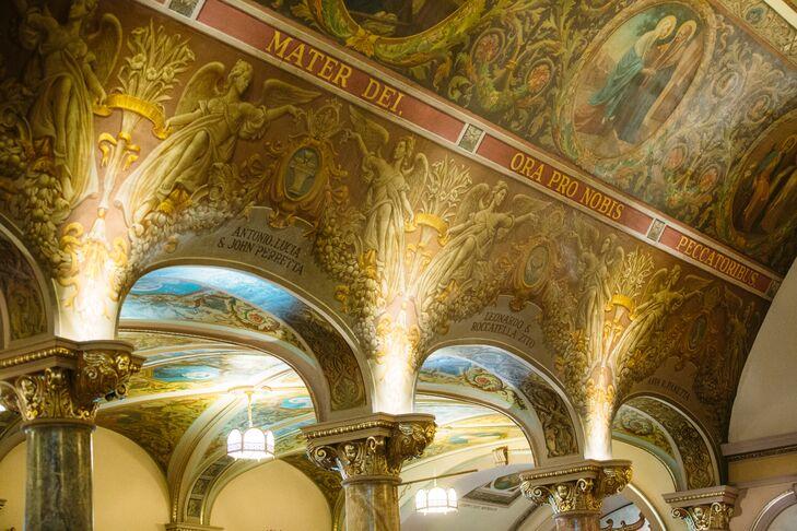 St Mary of Mount Carmel Fresco