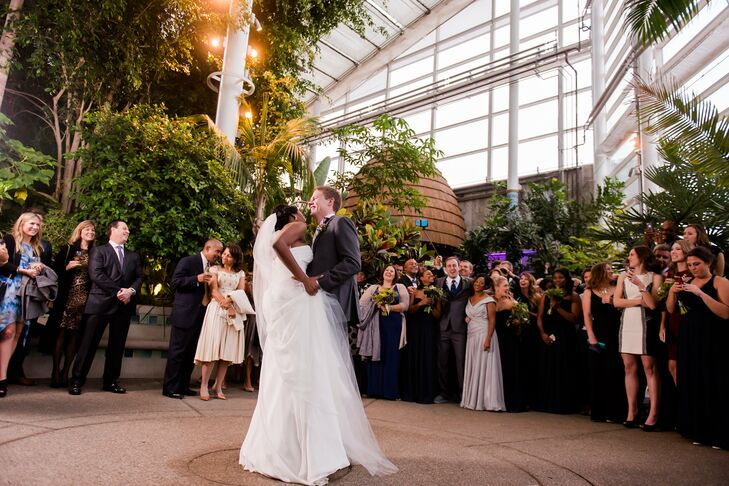 Phipps Conservatory First Dance