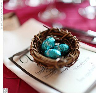 Bird S Nest Wedding Favors