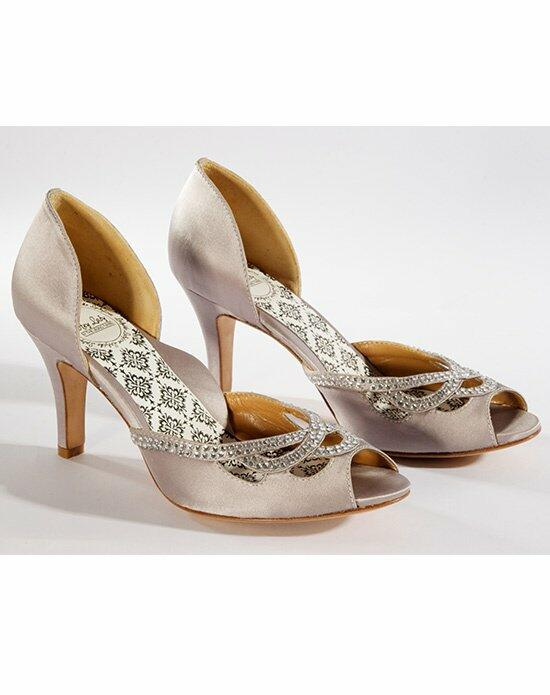 Hey Lady Shoes Knotty Girl Platinum Dusk Wedding Shoes photo