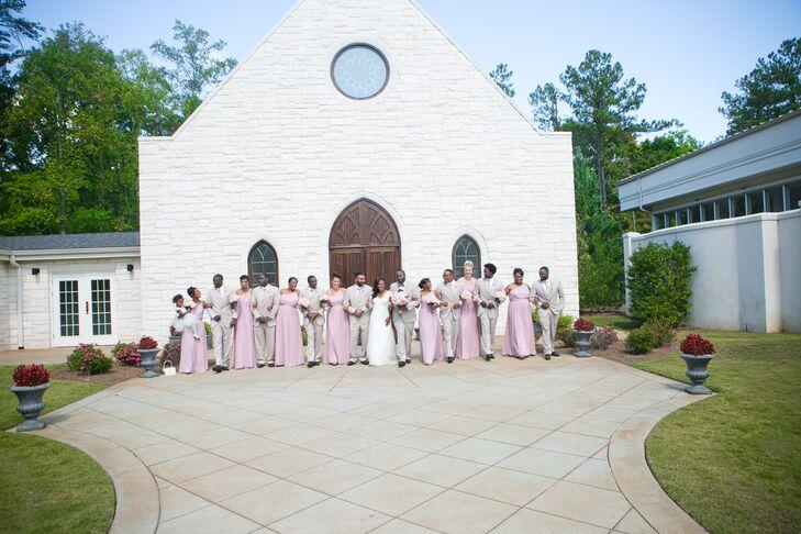 A Honeybee Inspired Wedding At Ashton Gardens In Sugar Hill Georgia