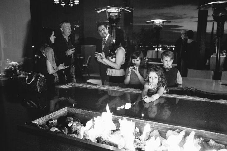- Modern Fire Pit In Talavera Restaurant