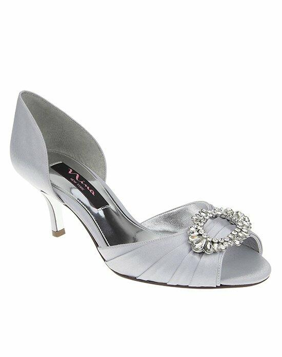 Nina Bridal CRYSTAH_SILVER Wedding Shoes photo