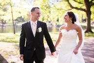 "Jenna Interlini (27, a Registered Nurse) and Paul Volpe's (26, a Physical Therapist)  wedding was inspired by the glitz and glam of the 1920s. ""I've b"