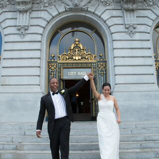A City Hall Wedding in San Francisco