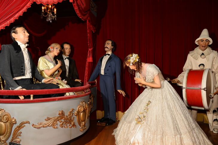 A Fun Wax Museum Wedding At Musee Conti In New Orleans