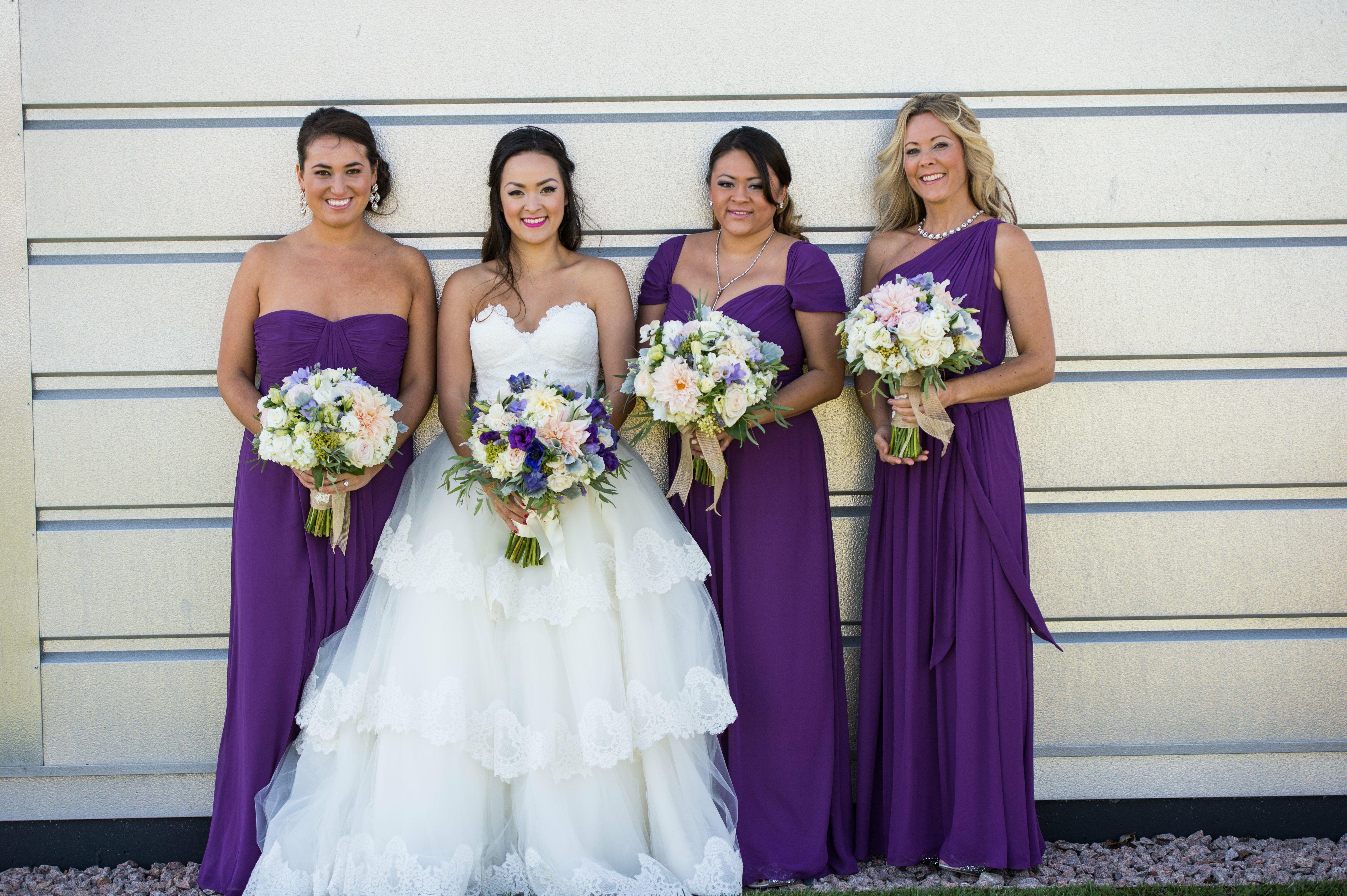 Lapis Colored Bridesmaid Dresses - Wedding Dress Ideas