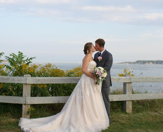 A Nautical Wedding At Southern Maine Community College In South Portland