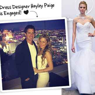 Hayley Paige Engaged
