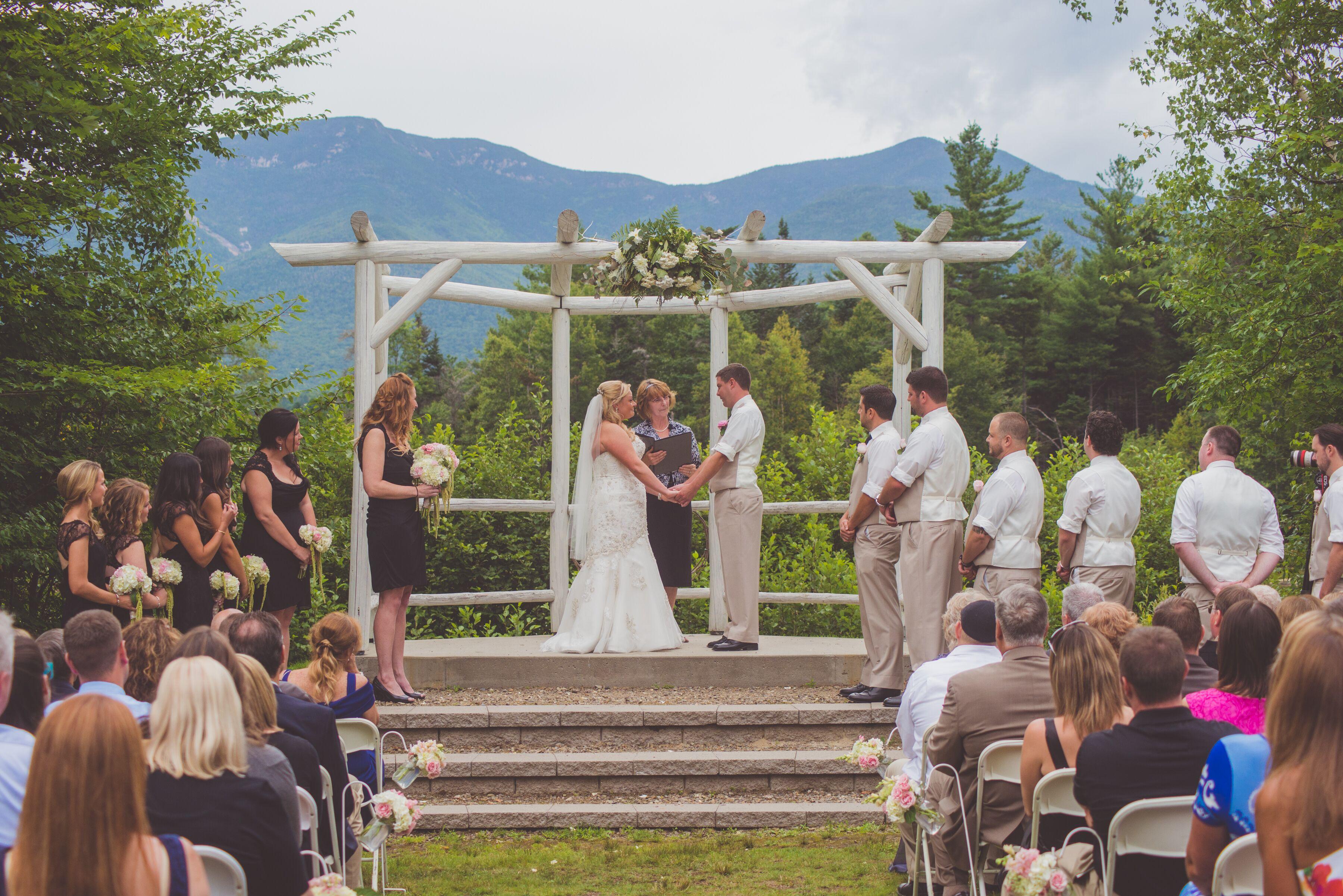 Waterville Valley Resort Outdoor Ceremony