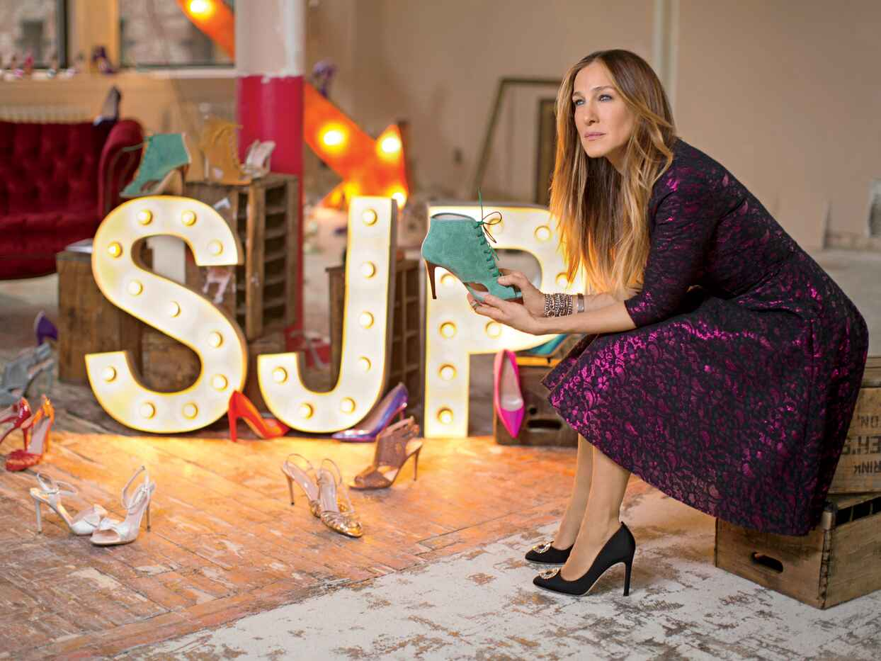 We're Obsessed With SJP's New Bridal Shoe Line