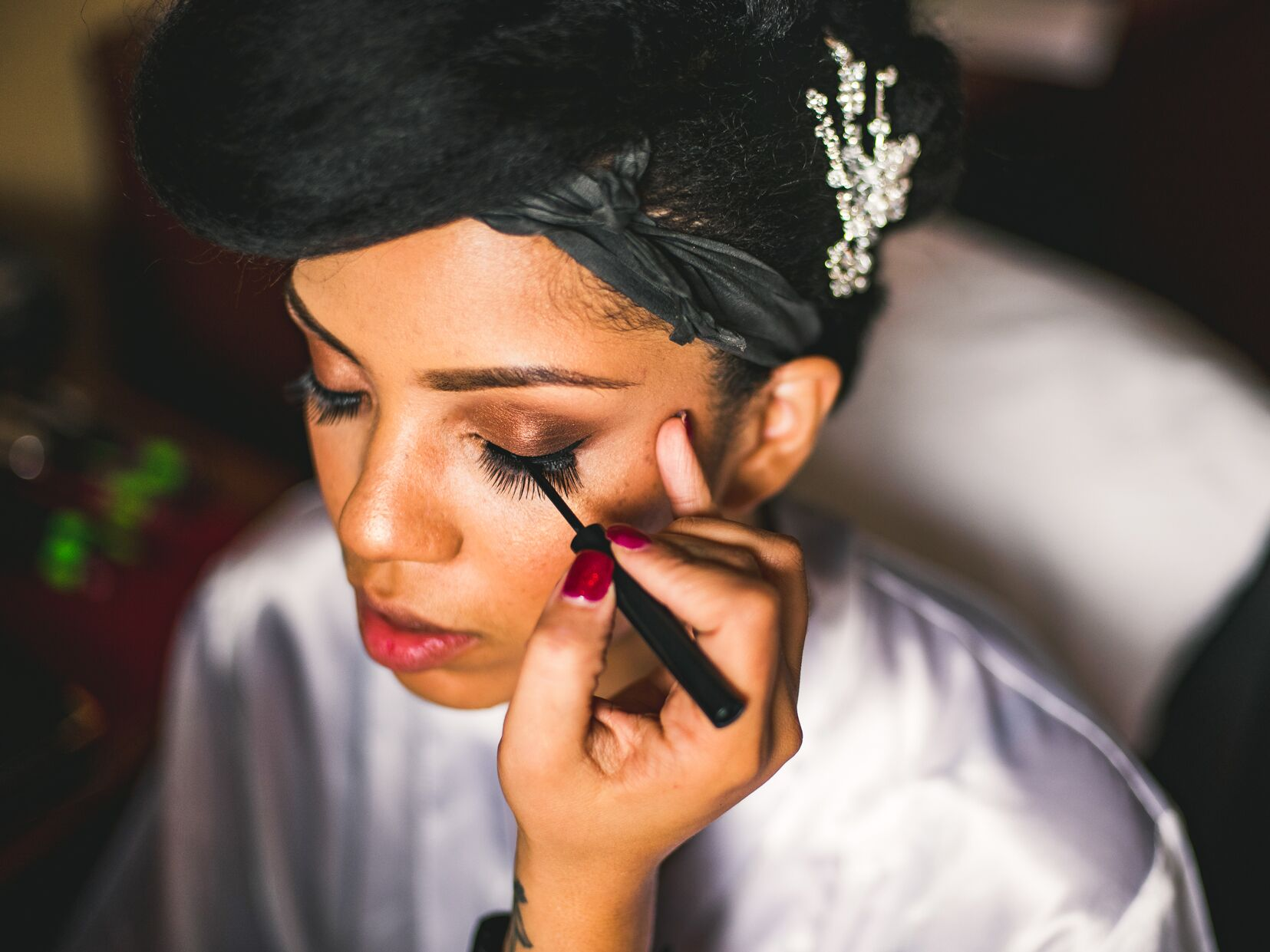 how much does wedding hair and makeup cost?