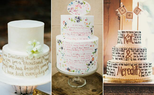 8 Cakes That Say It All