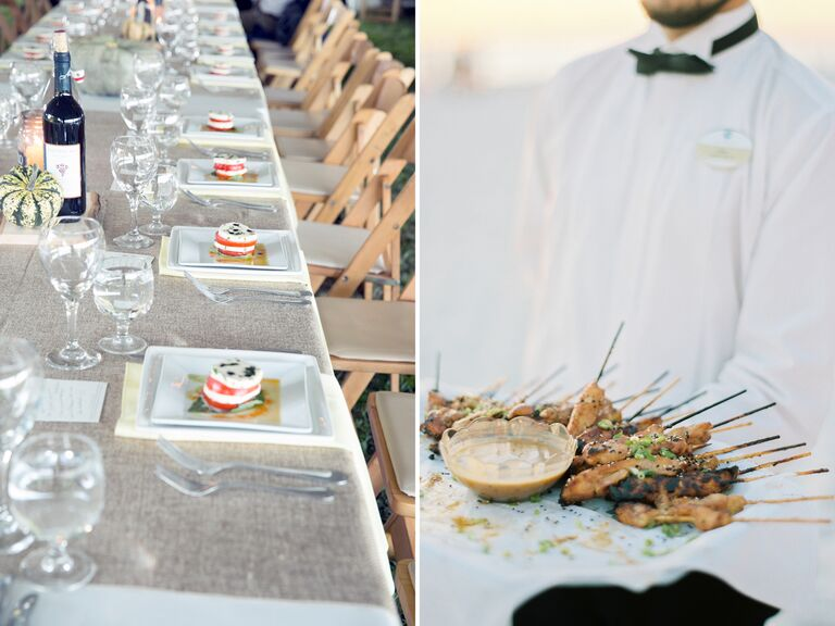 Wedding appetizer trends