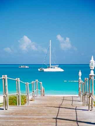 Caribbean wedding destination: Turks and Caicos