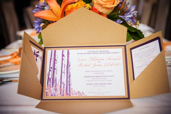 Outdoor Themed Wedding Invitations: Outdoor Wedding Ceremony