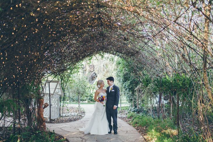 A Garden Wedding At Twin Oaks Estate In San Marcos California