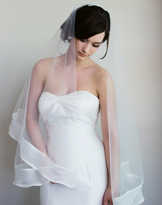 Sara Gabriel Victoria Veil Wedding Accessory photo