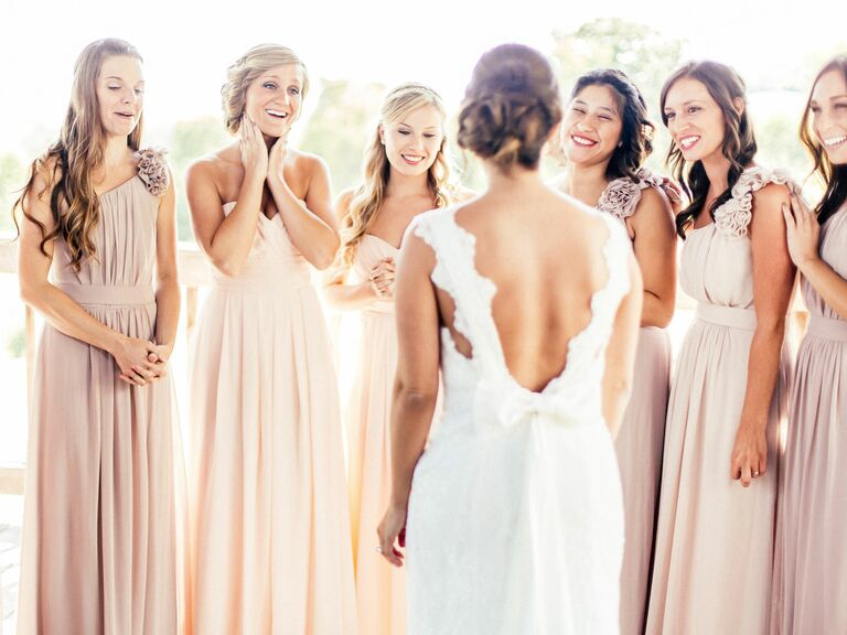 Blush Bridesmaid Dresses to Shop Now