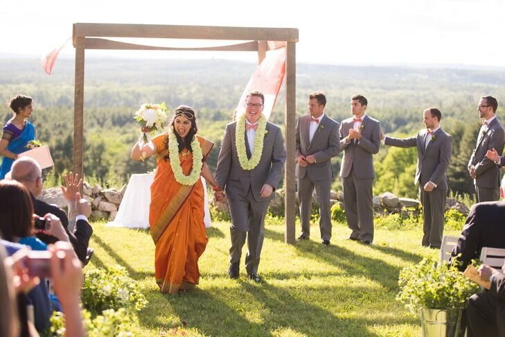 A Vibrant Interfaith Wedding At Fruitlands Museum In Harvard Machusetts