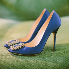 Blue wedding shoes manolo blahnik bridal shoes junglespirit Image collections