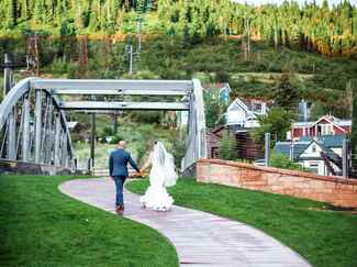 US wedding destination Park City, Utah
