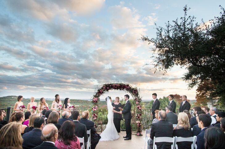 Ceremony Poetry At Villa Antonia Wedding