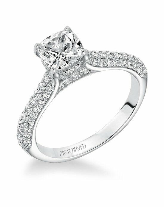 ArtCarved 31-V606FUW-E Engagement Ring photo
