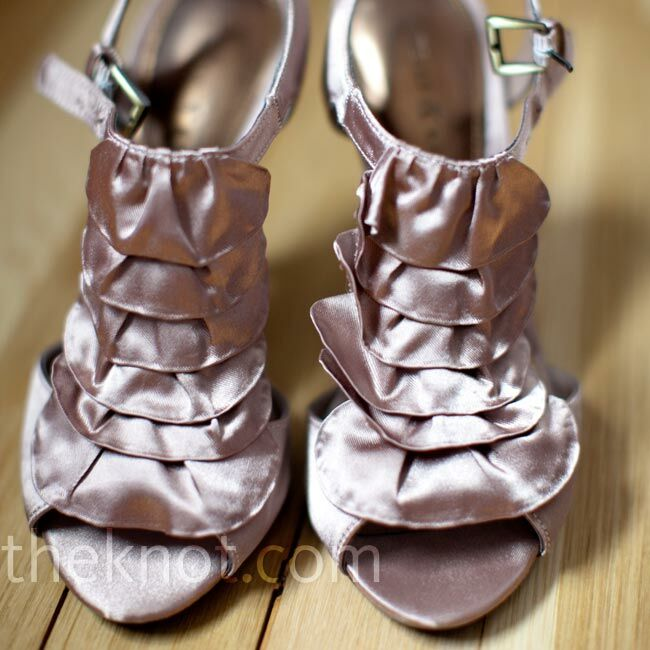 Taupe Bridal Shoes