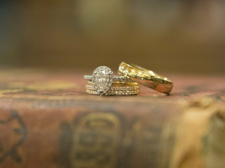 Real Gold Wedding Rings