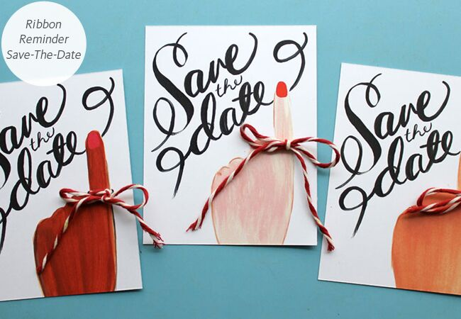 6 DIY SaveTheDate Templates You Can Easily Pull Off