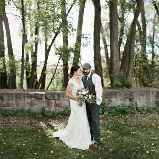 South Dakota forest wedding