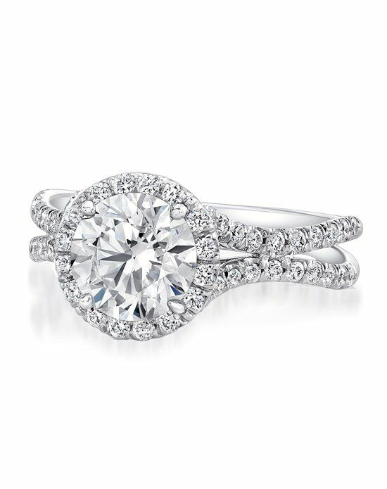Uneek Fine Jewelry LVS924-6.5RD Engagement Ring photo