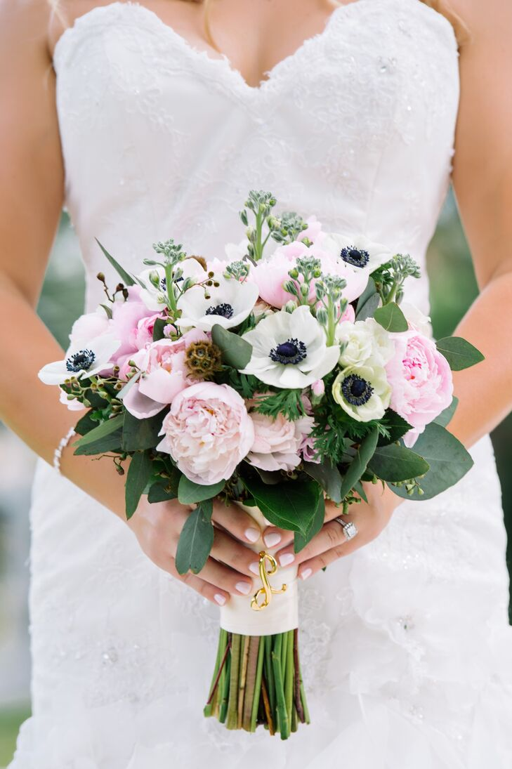 ranunculus wedding flowers peony ranunculus and anemone bridal bouquet 6956