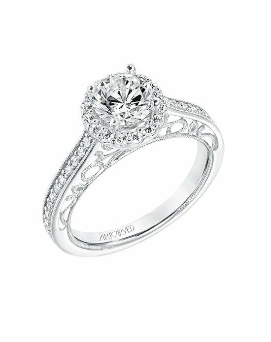 ArtCarved 31-V721ERW-E.00 Engagement Ring photo
