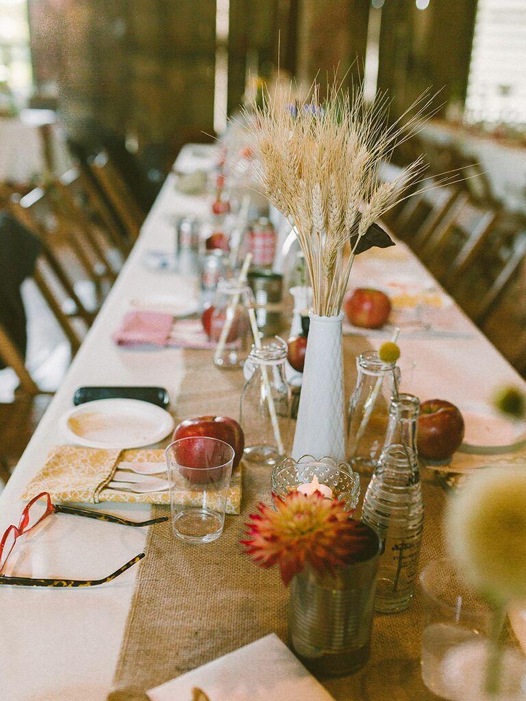 Fall Non Fl Centerpiece Ideas For Your Wedding
