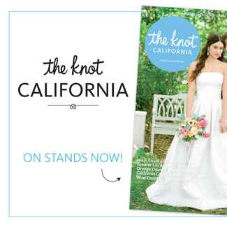 The Knot California wedding magazine fall winter 2015