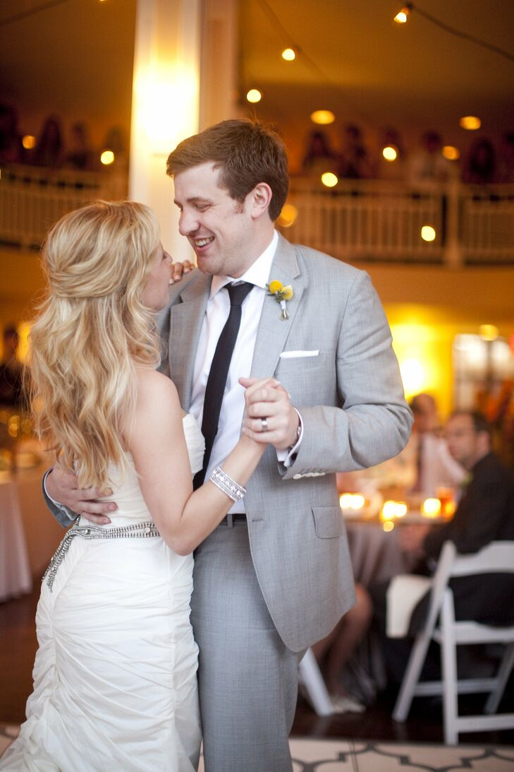 Stay with You by John Legend was the perfect choice for their first dance.