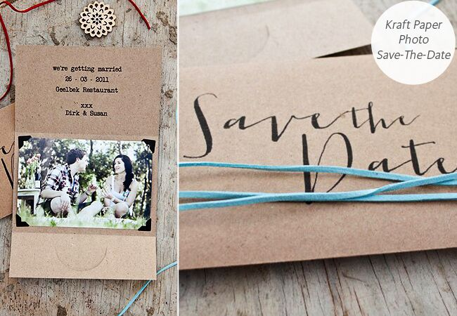 6 diy save the date templates you can easily pull off junglespirit Images