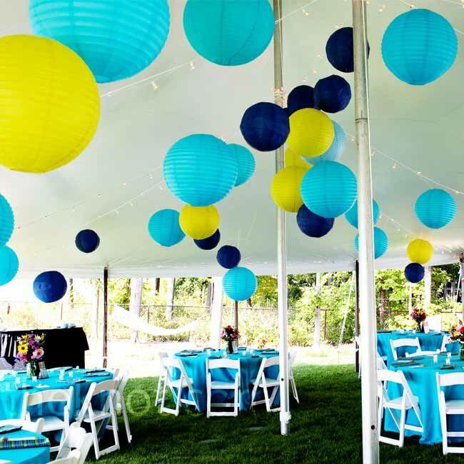 Lakeside Tent Reception