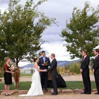 A Santa Fe Farmer's Market Wedding in Santa Fe
